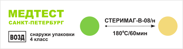 Индикатор 4 класса СТЕРИМАГ-В-08/н
